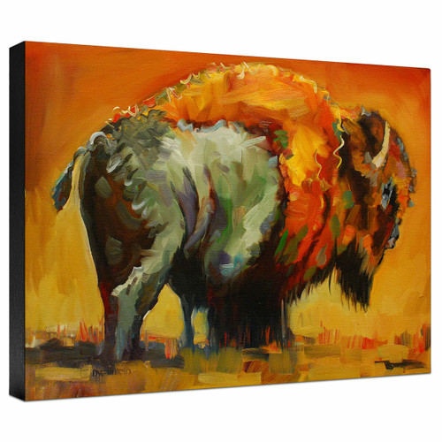 Herd Sentinel Gallery Wrapped Canvas