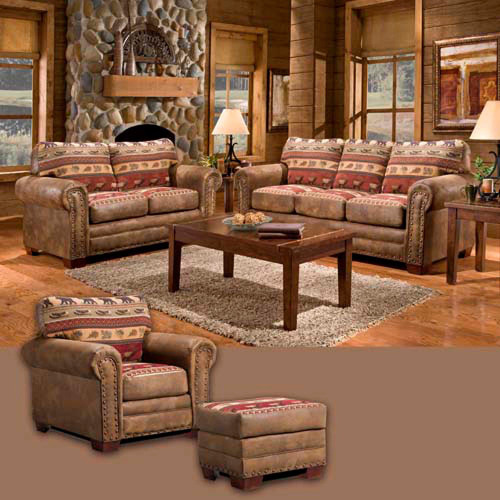 Forest Tapestry Sofa Collection