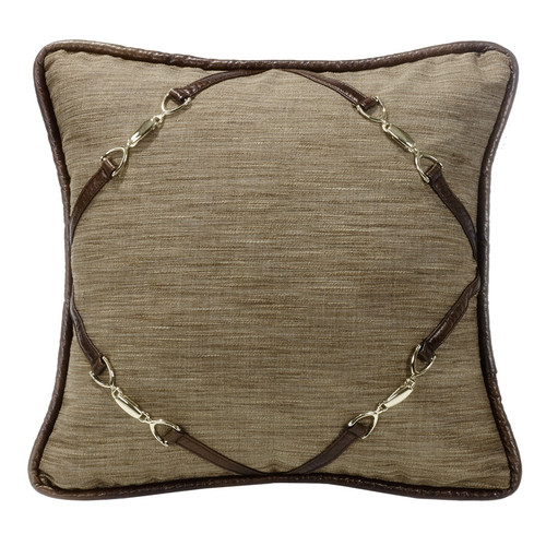 Highland Lodge Pillow with Buckle Corners