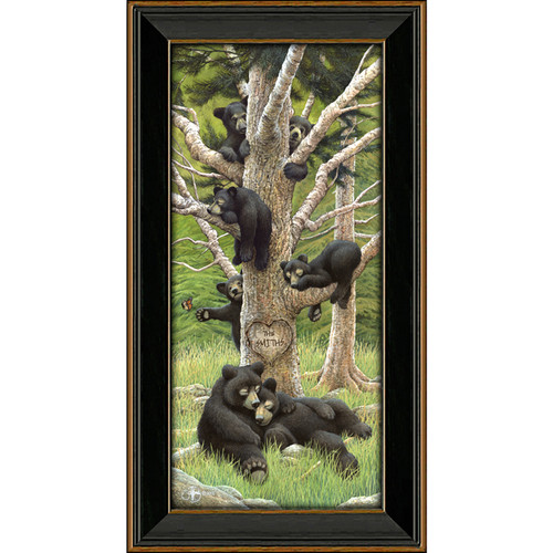 Bear Family Tree Personalized Prints