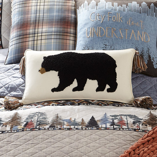 Hill Country Bear Pillow