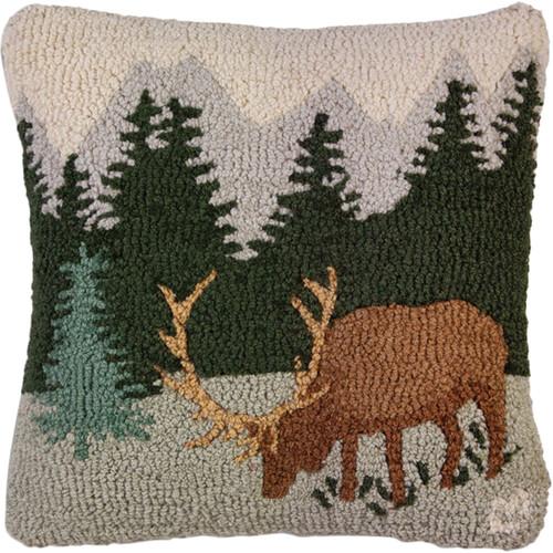 Hillside Elk Pillow