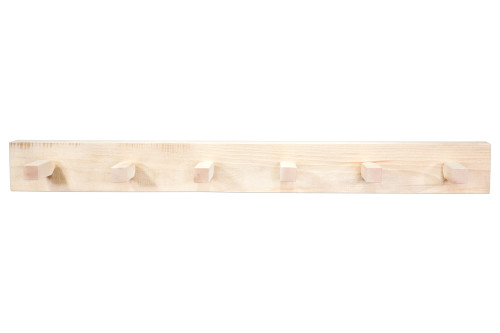 Homestead 4' Coat Rack - Lacquered