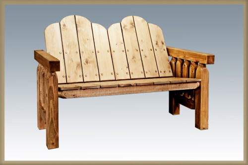 Homestead Deck Bench - Exterior Stain