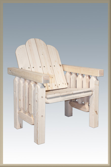 Homestead Deck Chair - Unfinished