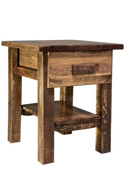 Homestead Nightstand - Stained & Lacquered