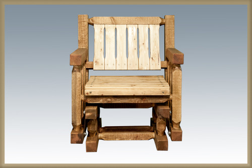 Homestead Single Seat Glider - Exterior Stain