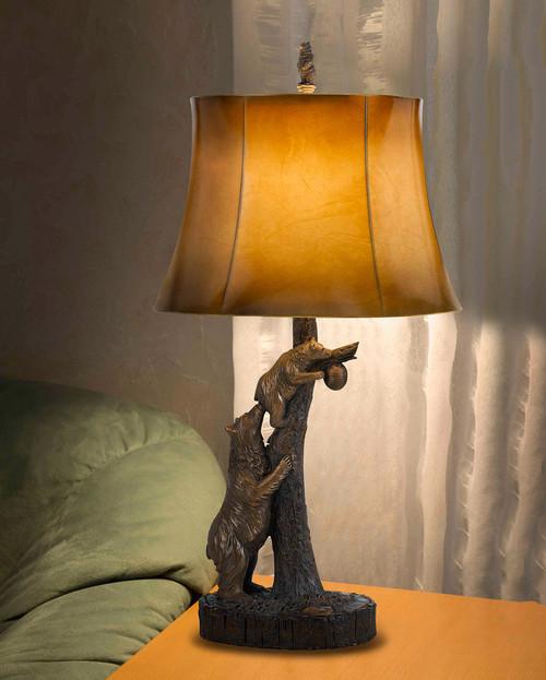 Honey Bears Table Lamp
