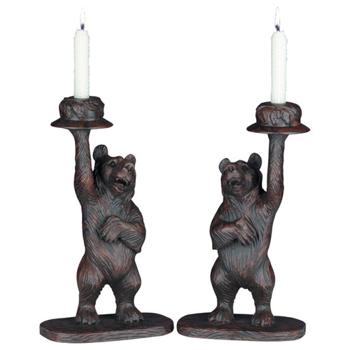 Honey Pot Bear Candleholders