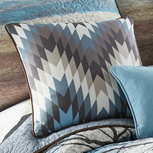 Horizon Geometric Pillow