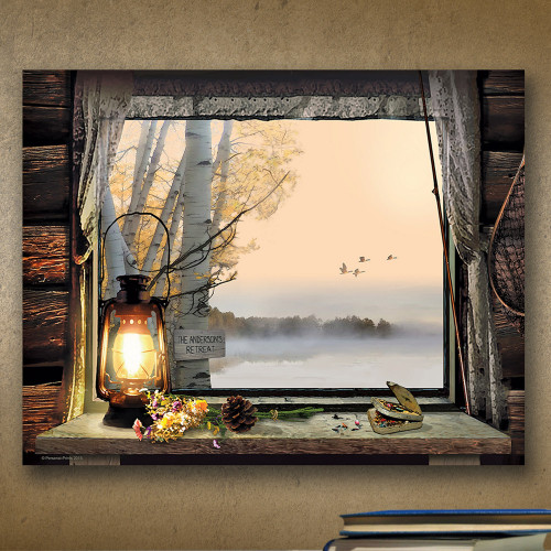 Personalized Morning View Wall Art