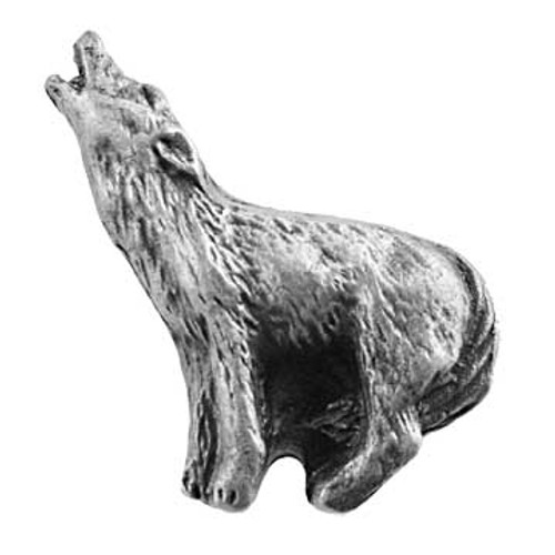 Howling Wolf Cabinet Knob