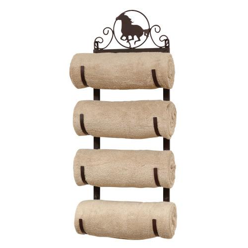 Horse Wall/Door Mount Towel