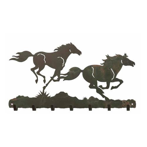 Horses Key Chain Holder