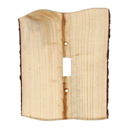 Rustic Edge Blued Pine Switch Covers
