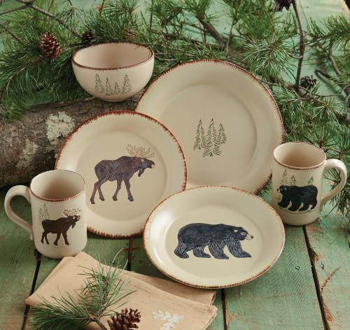 Bear & Moose Stoneware Dinnerware