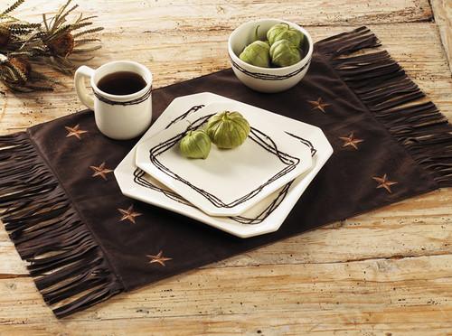 Laredo Chocolate Placemats - Set of 4