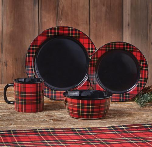 Lumberjack Plaid Dinnerware Collection