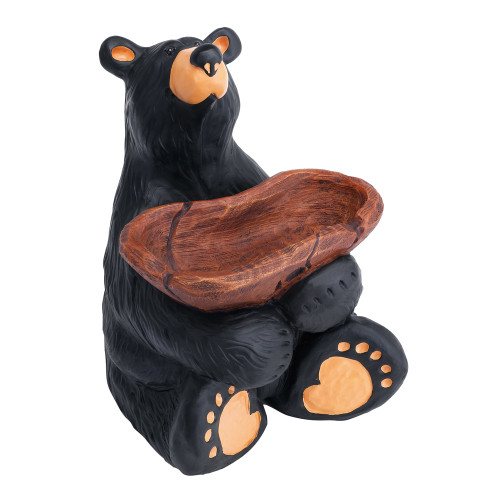 Jeeves Black Bear with Tray