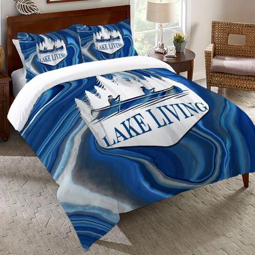 Keystone Lake Comforter - Queen