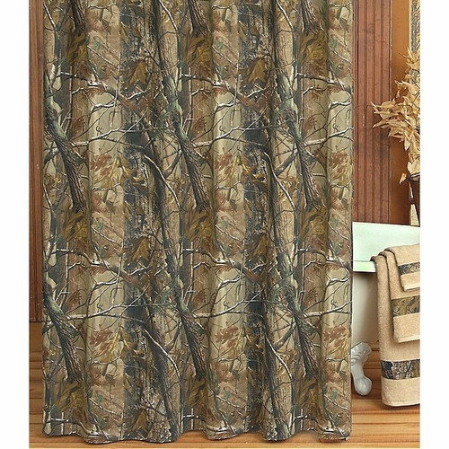 Realtree All Purpose Camo Shower Curtain