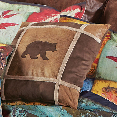 Kodiak Bear Pillow