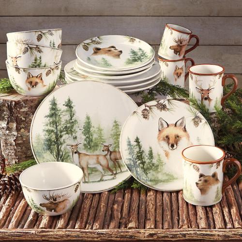 Woodland Friends Dinnerware Collection