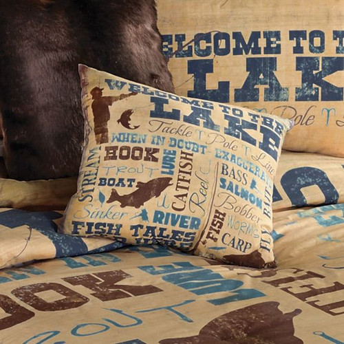 Lake Lifestyle Pillow