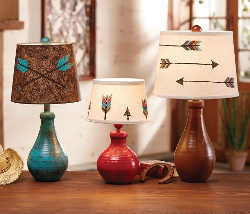 Arrow Table Lamps