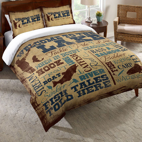 Lake Lifestyle Duvet Cover - Twin
