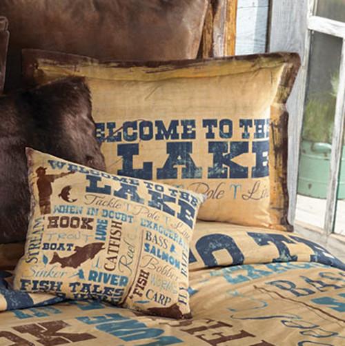 Lake Lifestyle Standard Sham