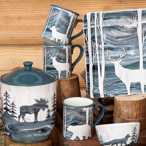 Lake Lodge Mugs - Set of 4