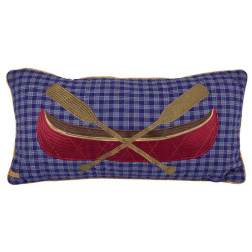 Lake Retreat Canoe Pillow
