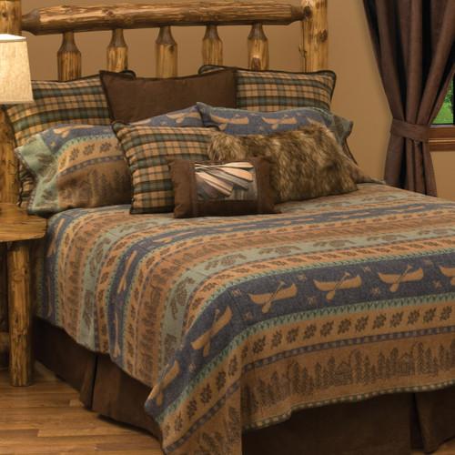 Lake Shore II Bedspread - Cal King
