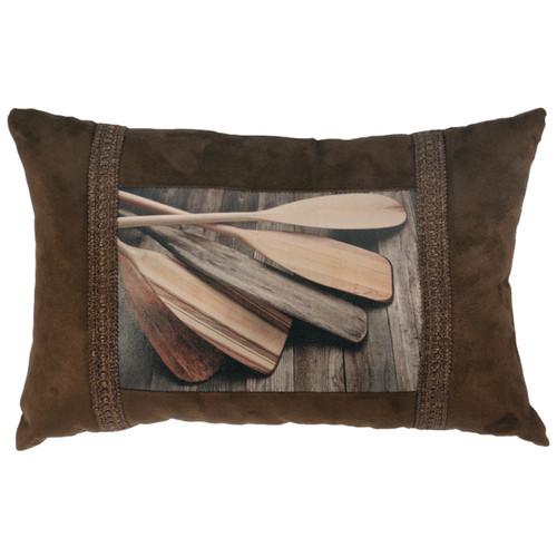 Lake Shore II Oars Pillow