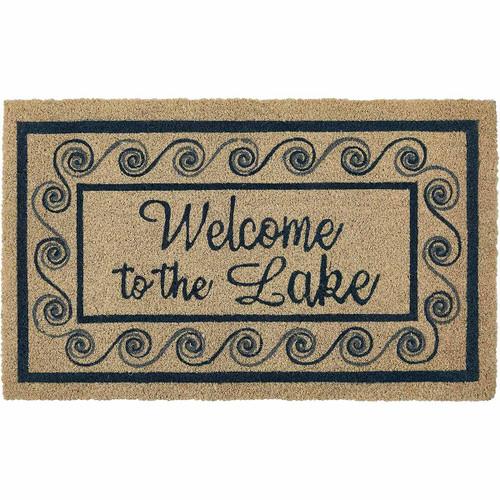Lake Welcome Doormat