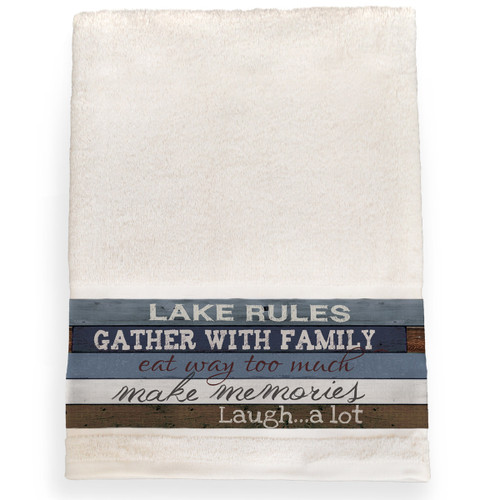 Lakeside Getaway Bath Towel
