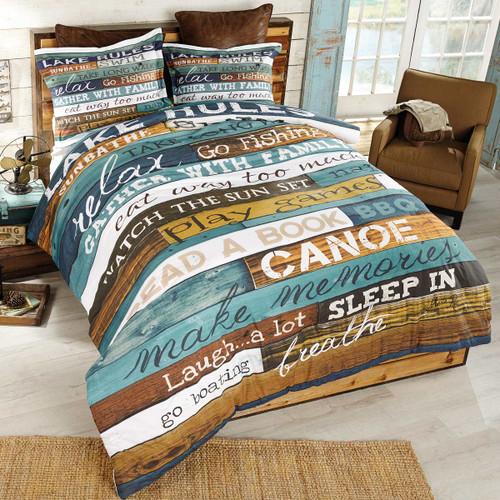 Lakeside Getaway Comforter - Queen