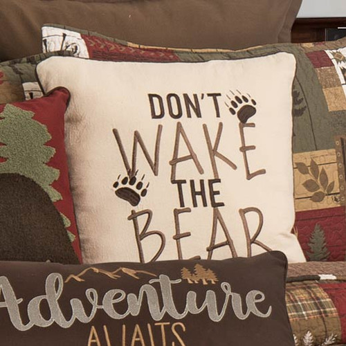 Lakeside Lodge Wilderness Accent Pillow