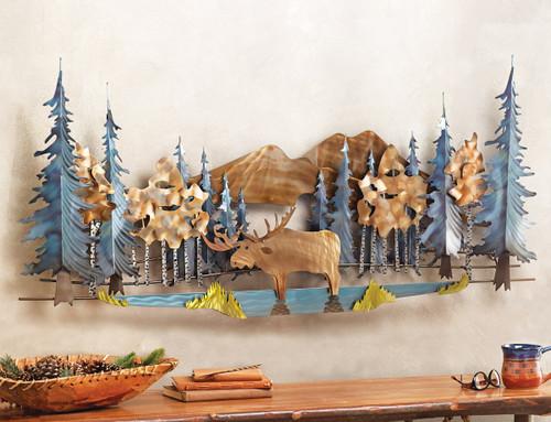 Lakeside Moose Wall Hanging