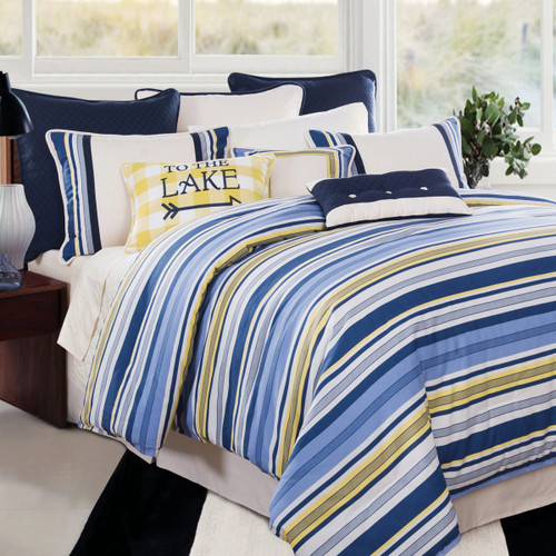Lakeside Retreat 4 Piece Bed Set - Queen