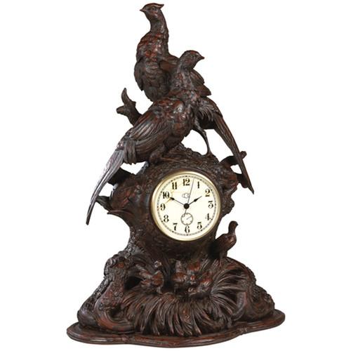 Black Forest Pheasant Clock