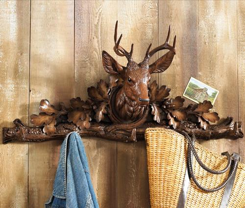 Black Forest Stag Coat Rack