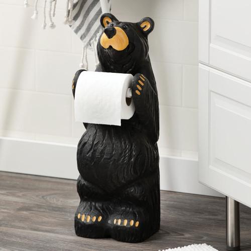 Little Bear Toilet Paper Holder