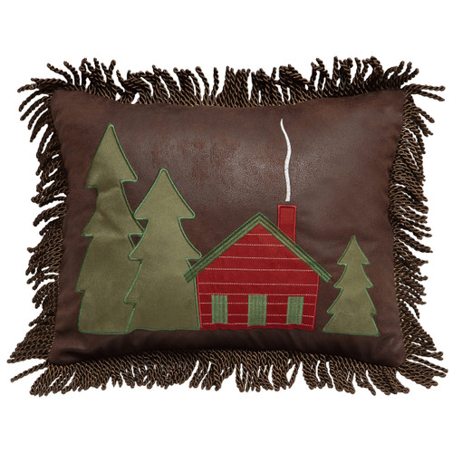 Lodge Bands Cabin Pillow
