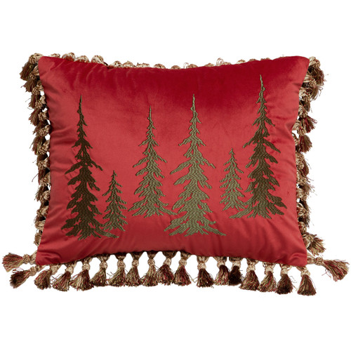 Lodge Bands Tree Pillow