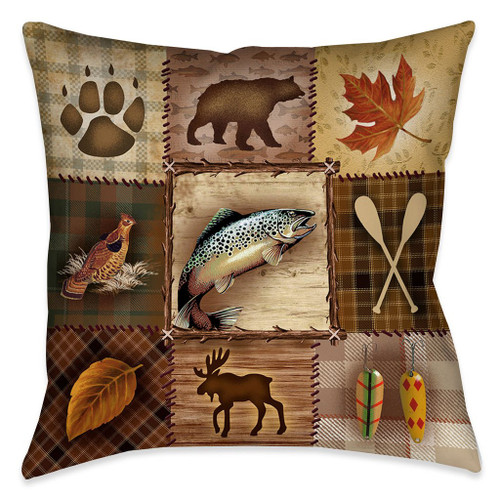 Lodge Icons Pillow