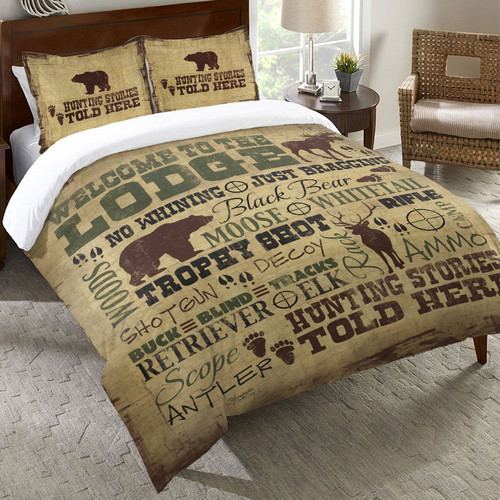 Lodge Lifestyle Duvet Cover - Twin