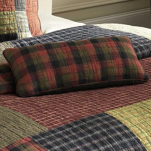 Lodge Plaid Rectangular Pillow