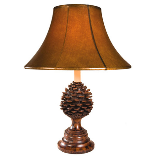 Lone Pinecone Table Lamp